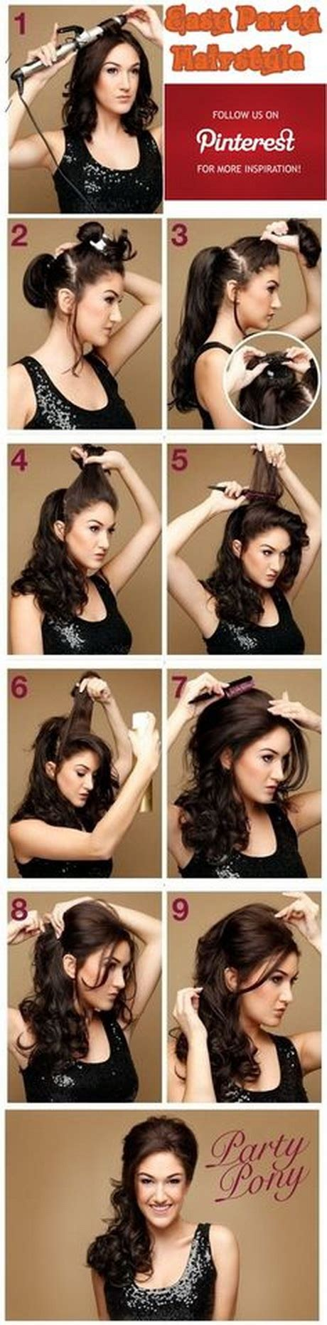 easy hairstyles christmas parties holiday hairstyles for long hair