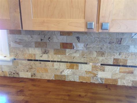 how to take care of tin backsplash for kitchens travertine backsplash 28 travertine backsplash care a amp