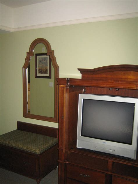 Entertainment Center For Bedroom by Photo Tour Of A One Bedroom Suite At Disney S Saratoga