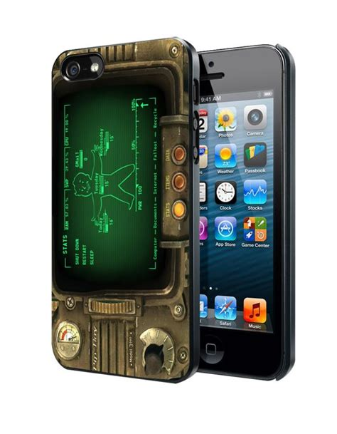 Fallout Pipboy 3000 Special A1317 Iphone 4 4s 5 5s 6 6s 6 P fallout 5s cases and 5c on