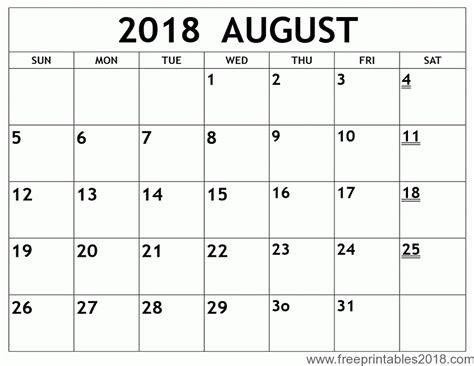 printable calendar 2018 october free printable calendar august 2018 free printables 2018