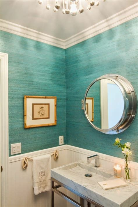 small bathroom color ideas 2017 grasscloth wallpaper 30 frische farbideen f 252 r wandfarbe in t 252 rkis