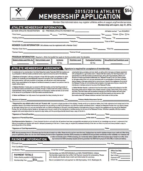 11 Gym Contract Templates To Download For Free Sle Templates Fitness Contract Template