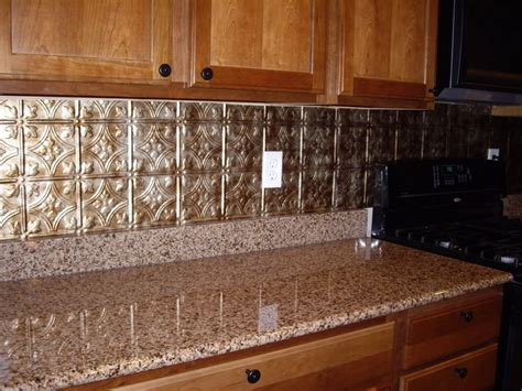 tin kitchen backsplash kitchen backsplash exles 18 photos of the how to