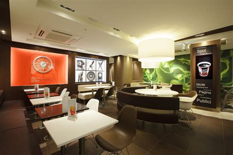 Fast Food Kitchen Design Mcdonald S New Generation Design Stores Projects