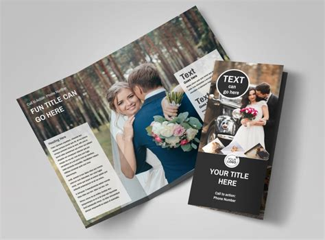 Wedding Photography Package Brochure Template Mycreativeshop Photography Brochure Templates Free