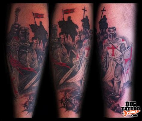 black and grey knight tattoo daniel watson black and grey tattoo big tattoo planet