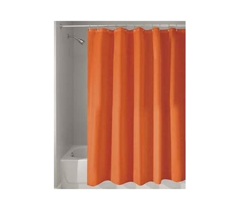 Shower Curtains Orange Orange College Shower Curtain Or Liner
