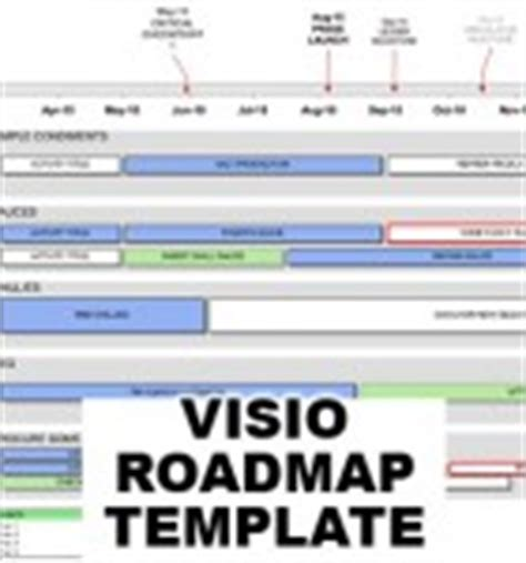 roadmap template visio roadmap templates some exles of great roadmap images