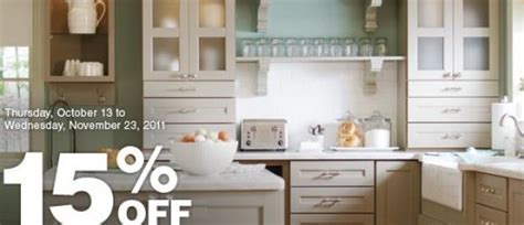 home depot kitchen cabinets canada home depot canada 15 off all kitchen cabinets canadian