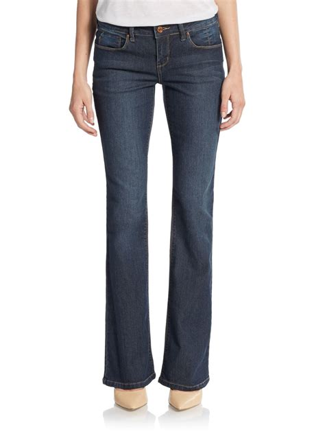 sold design lab denim lyst sold design lab virtual bootcut jeans in blue