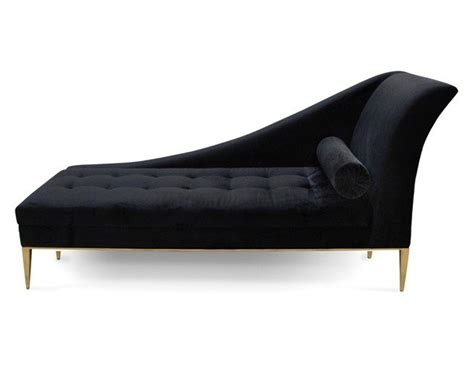 luxury chaise luxury button tufted and polished brass chaise longue