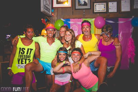 party themes like tight and bright tight bright 80 s fun at macky s theme parties ocean