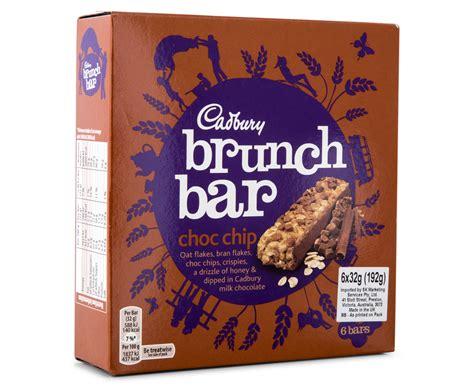 Cadbury Brunch Bar Choc Chip 3 x cadbury brunch bar choc chip 6pk groceryrun au