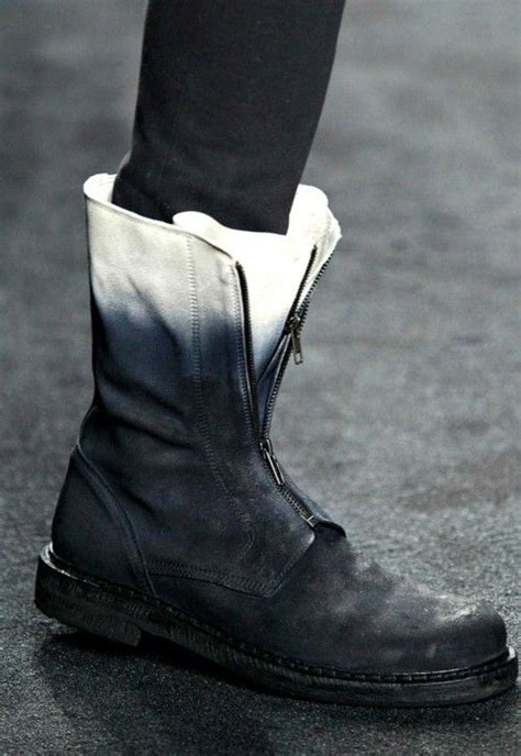 spray paint ugg boots demeulemeester inspiration and boots on