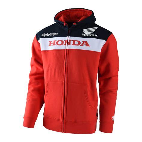 troy lee designs honda jacket troy lee designs jacket honda wing zipup red maciag offroad