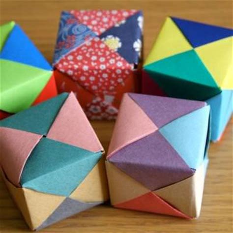 Simple Origami Cube - pin rainbow cake evies birthday part 2 cake on