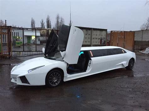 lamborghini limousine blue this seven metre lamborghini reventon replica was a