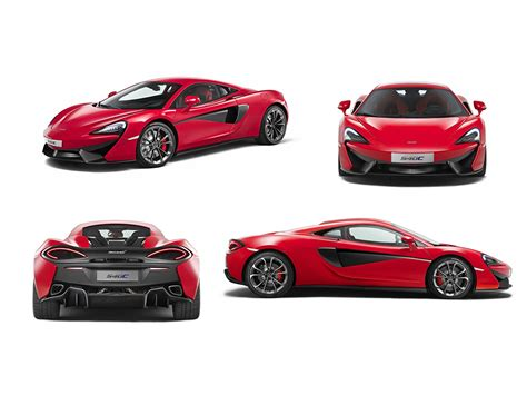 Auto Front by Picture Mclaren 2016 540c Coupe Auto Side Front Back View