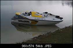 sea doo boat with trolling motor speedster with trolling motor