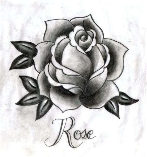 rose tattoo by starfishwish on deviantart