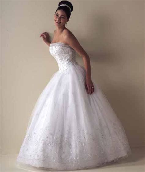 strapless ball gown wedding dress sang maestro