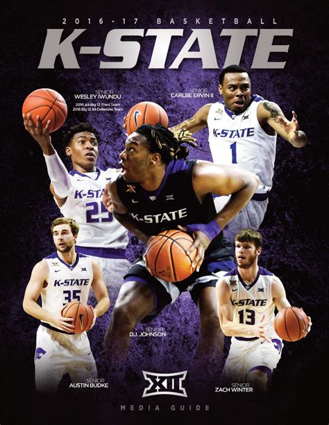 k state today archive 2016 17 kansas state men s basketball guide by k state