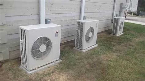 mitsubishi electric mr slim mitsubishi mr slim heat pump hvac units youtube