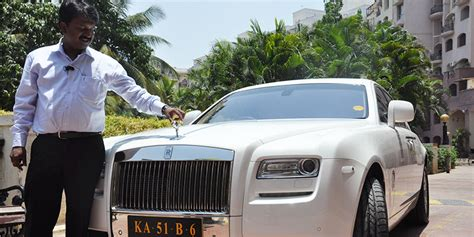 roll royce bangalore ramesh babu the barber who owns a rolls royce yourstory com