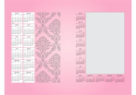Calendar Decoration by Calendar Decoration Free Vector Stock