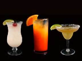Top Mix Drinks Ordered At Bars by Barschool Alcoholic Drink Names