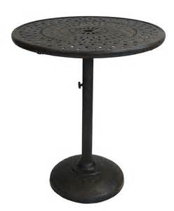 Umbrella Stand For Patio Table Oakland Living 36 Inch Bar Table W Built In Umbrella Stand