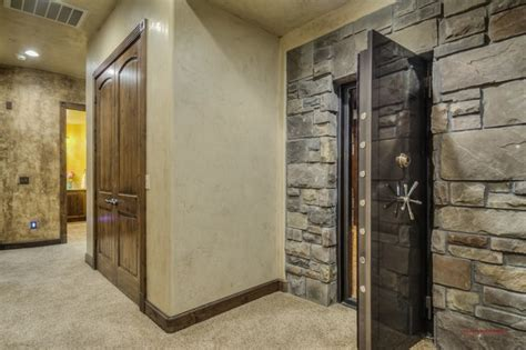 building a safe room safe room traditional basement other by st george luxury home
