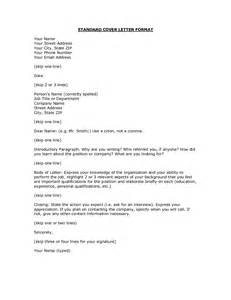 Business Letter Format Current typical cover letter format best template collection