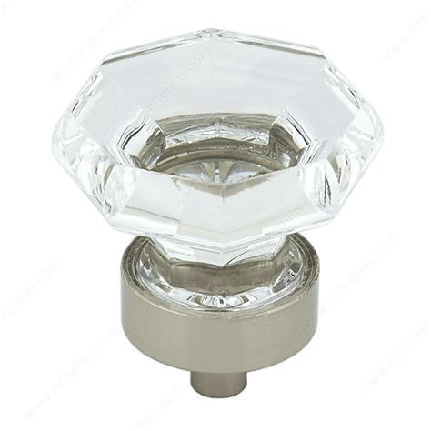 Richelieu Pulls And Knobs by Eclectic Metal And Acrylic Knob 1008 Richelieu Hardware