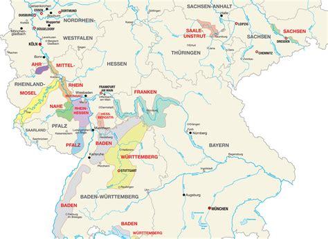 rhine germany map germany rhine river wine tour germany wine expat