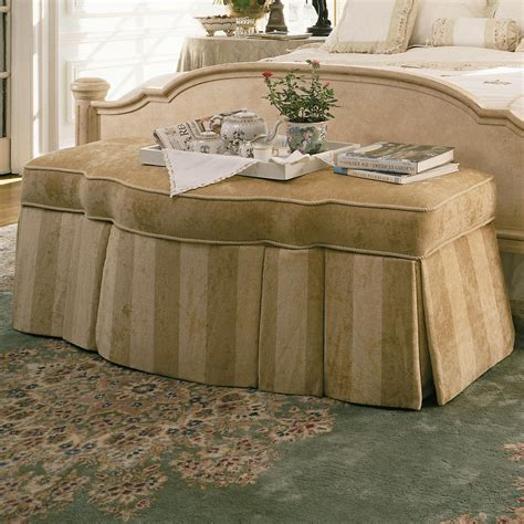 signature upholstered bench century signature upholstered accents traditional storage