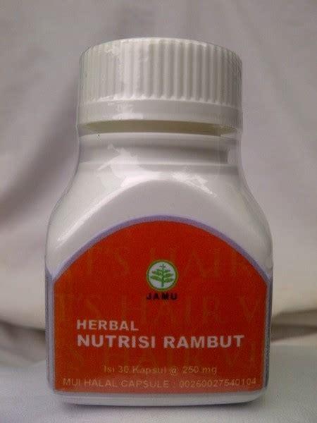 Herbal Nutrisi Jual Herbamed Hair Vit S Obat Nutrisi Rambut Sarana