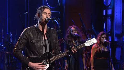 hozier on snl quot take me to church quot quot angel of small death the codeine