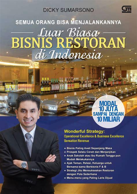 Buku Semua Orang Bisa Masak jual buku luar biasa bisnis restoran di indonesia semua
