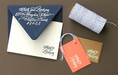 diy stationery diy embossed custom stationery