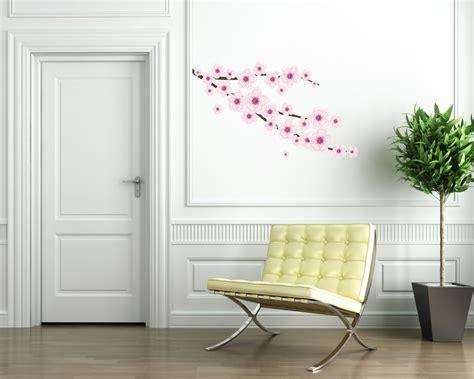 wall stickers fiori adesivo murale fiori di pesco wall stickers adesivi da