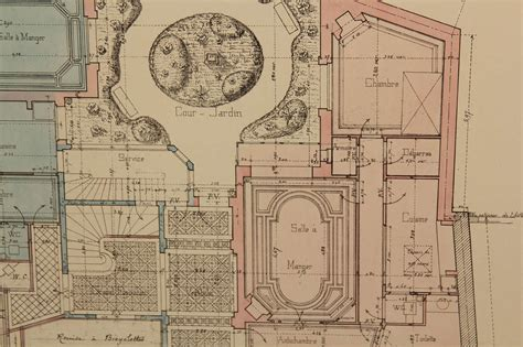 architectural blueprints for sale french architectural drawings for sale at 1stdibs
