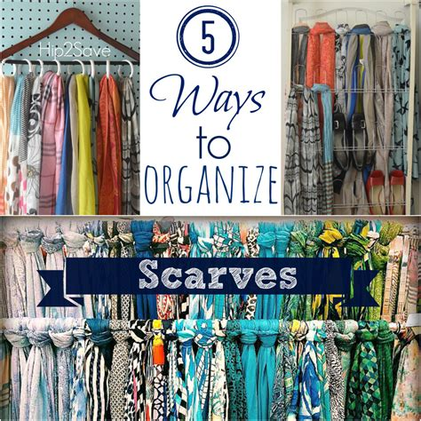 How To Store Scarves In A Closet by 5 Ways To Organize Scarves Organize Scarves Organizing