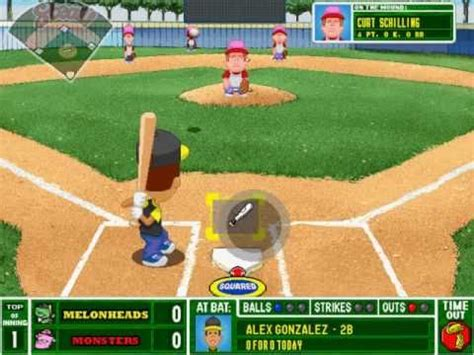 backyard baseball 2001 backyard baseball 2001 gameplay w commentary youtube