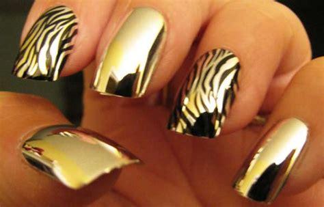 imagenes uñas negro con dorado u 241 as decoradas color dorado u 241 as decoradas club