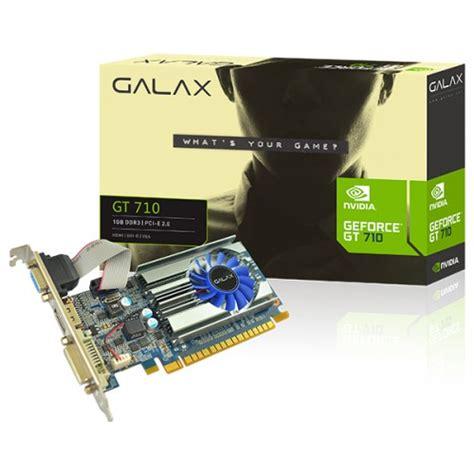Vga Asus Gt 710 1gb Ddr3 64 Bit galax geforce gt 710 1gb graphics card