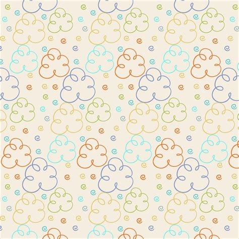 pattern cute photoshop cute pattern with clouds photoshop vectors brushlovers com