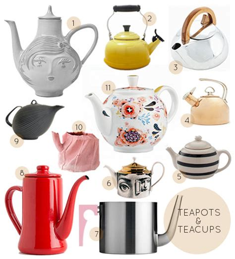 Ideas Design For Teapot L 40 Great Teacups Teapots Design Sponge