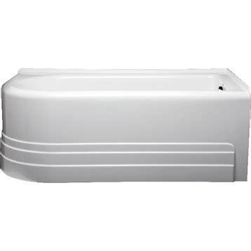 americh bathtub reviews americh bow 6032 right handed tub 60 quot x 32 quot x 21 quot free shipping modern bathroom